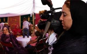 camera/woman documentary Morocco