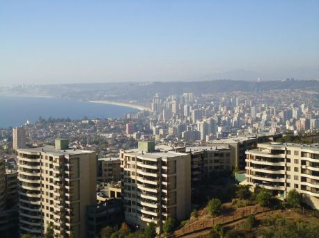 One of the most striking things to me about my visit was the modernity of the cities we went too, such as the developed skyline of Viña del Mar, Chile.