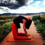Brooke Yoga Camel Pose (1)