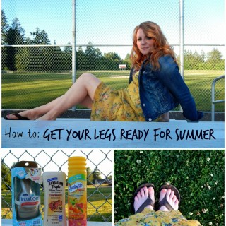 How to Get Your Legs Ready for Summertime