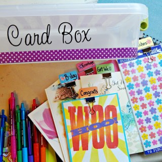 How to Make a Card Kit Box