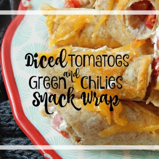 Diced Tomatoes & Green Chilies Snack Wraps