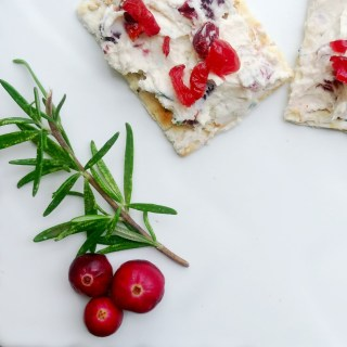 A Cran-Cherry Rosemary Spread That Guests Will Love