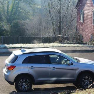 Riding in the 2017 Mitsubishi Outlander Sport