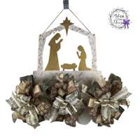 Nativity Door Decoration | www.imagenesmy.com