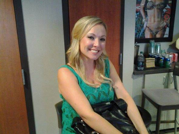 Katie Cook of CMT Insider after I did her makeup and hair in Tampa fl. That day I got the pleasure to do makeup for country singers Tim McGraw, Kenny Chesney, and Jake Owen for the Brother's of The Sun tour at Raymond James Stadium