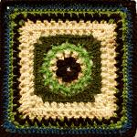 Crochet Sweet Buttercup Square