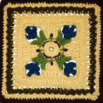Crochet Tulip Dishcloth