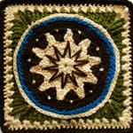 Crochet Twinkle Twinkle Little Star Square
