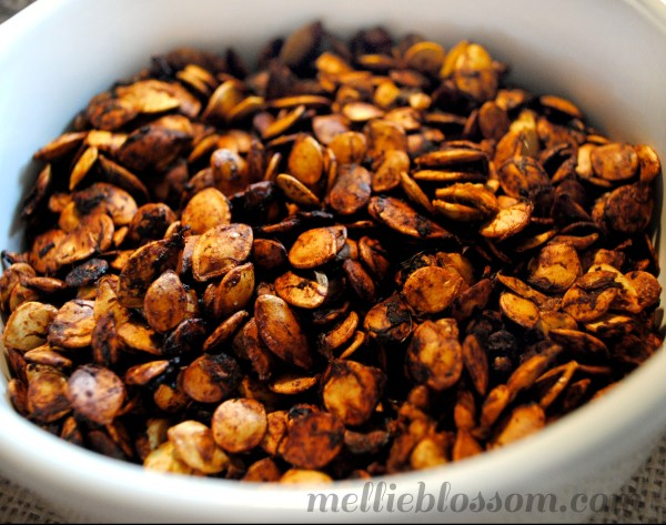 Roasted Squash Seeds