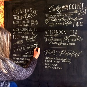 Personalised & Hand Lettered Chalkboards by Mellor and Rose: Lancashire, Yorkshire, Cheshire & Merseyside
