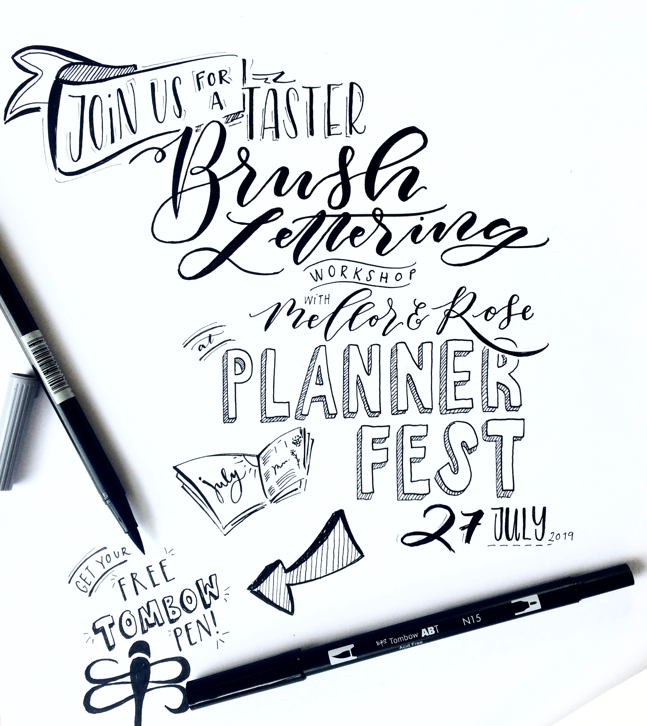 PlannerFest 2019 Manchester with Mellor and Rose // Mellor&Rose