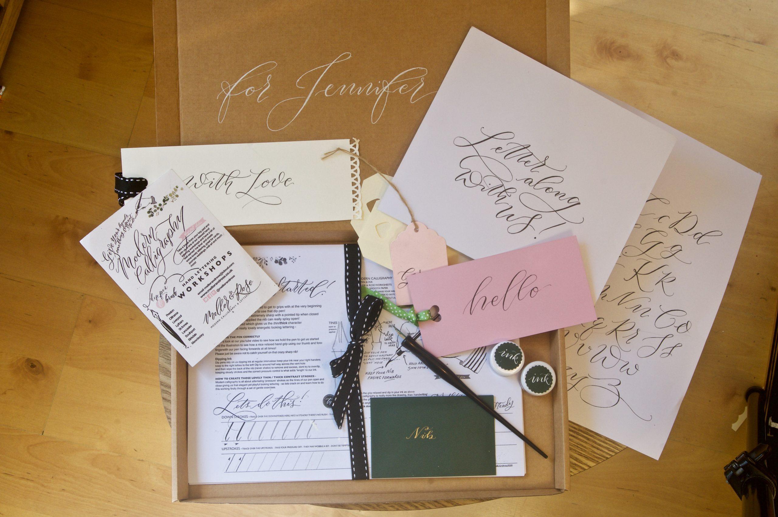 Mellor & Rose Modern Calligraphy Workbooks