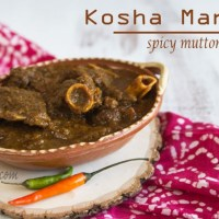 Kosha Mangsho : Spicy Mutton Curry |Cooking|