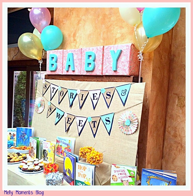 storybook themed baby shower