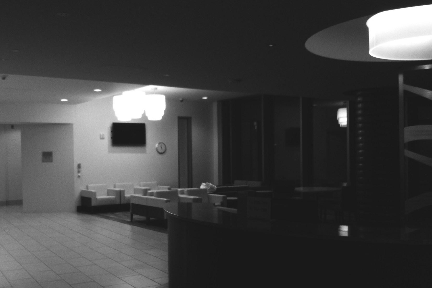 Eerie waiting rooms