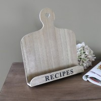 Country Kitchen Wooden Recipe Book Holder - Melody Maison