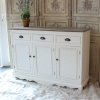 Large White Sideboard Cabinet - Melody Maison