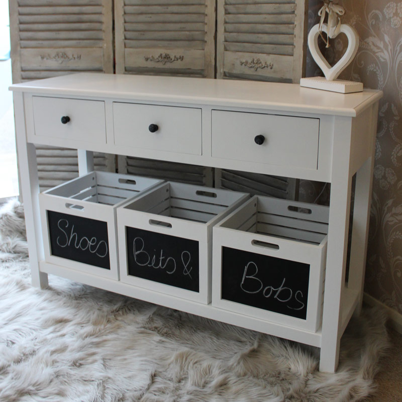 Hall Console Tables With Storage white console table with storage – table idea