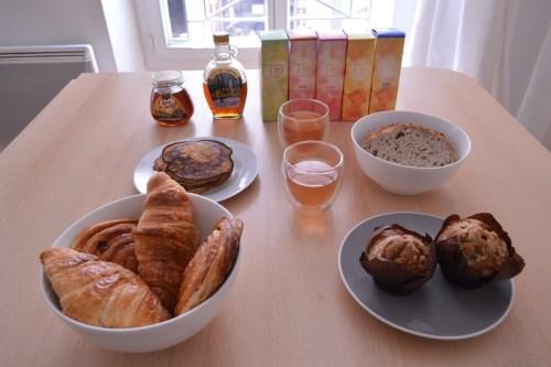 Blog mode Melo limparfaite brunch la belle assiette saumon dessert