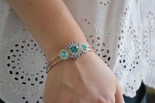 Blog mode melolimparfaite blouse blanche bracelet swaro mango dentelle