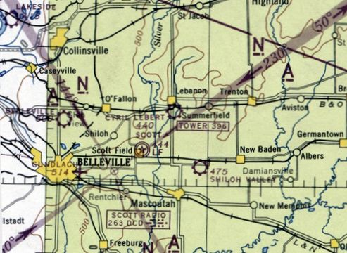 Abandoned  Little-Known Airfields Southwestern Illinois
