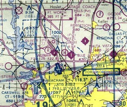 Abandoned  Little-Known Airfields Texas - Northwestern Fort Worth area