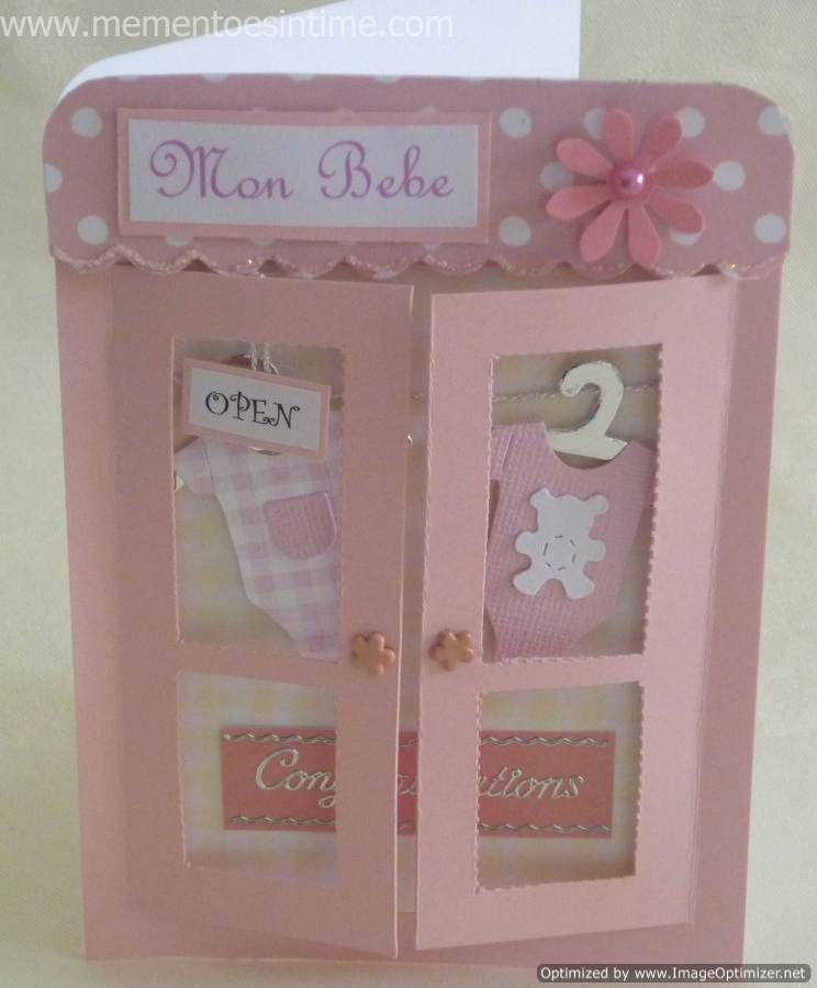 Children and Babies Card Ideas - Mementoes In Time