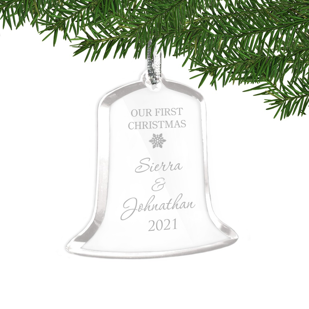 Horrible Our Acrylic Bell Shaped Personalized Ornament 12380 Li Ornament Girl Ornament 2018 inspiration First Christmas Ornament