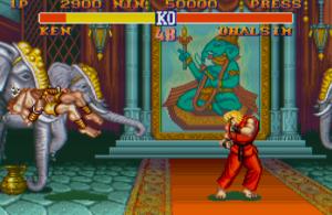 Street Fighter II do SNES