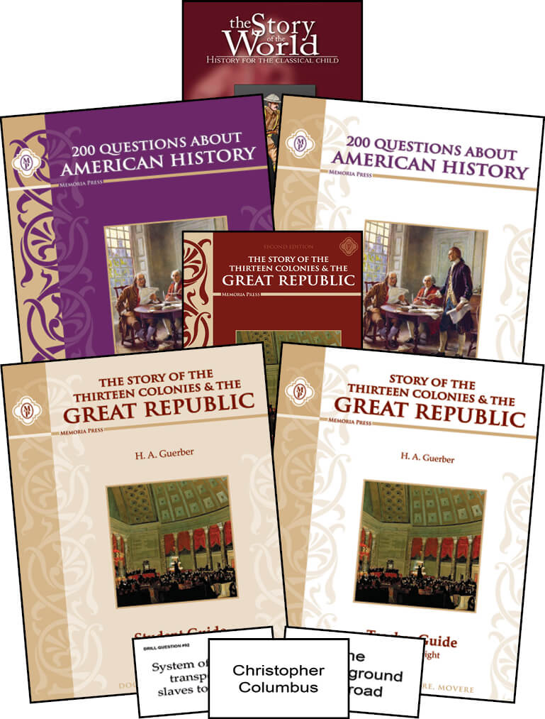 200 Questions About American History Module (5-8) Memoria Press
