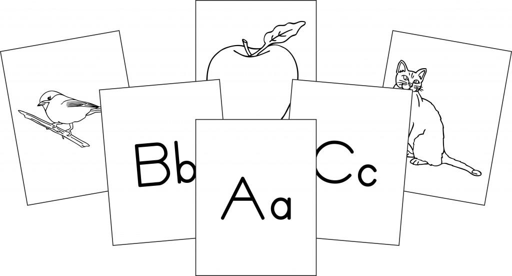 Alphabet Flashcards Memoria Press - Classical Christian Curriculum