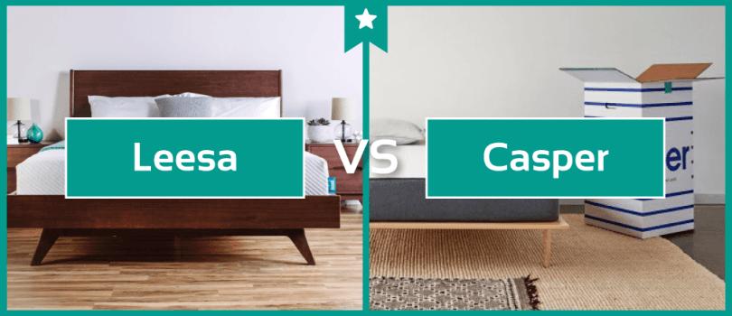 Leesa Vs Casper Mattress Comparison Review Jan 2018