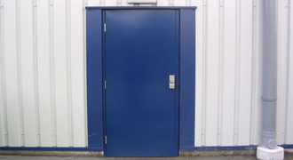 Single Hollow Metal Door Brush Seals