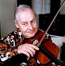 Stephane Grappelli in 1976