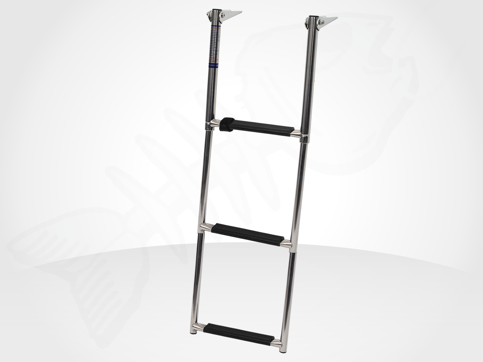 3 Step Stainless Steel Telescopic Boat Ladder Swim Boarding