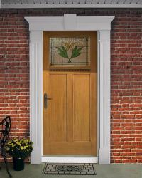 """Fypon Entrance Trim Kit with 6"""" x 85"""" Fluted Pilasters and ..."""