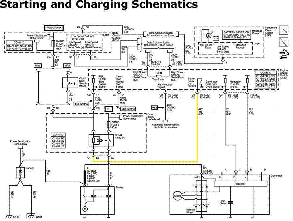 2008 chevy malibu starter wiring diagram