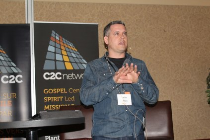 Blair Allen, pastor of The Compass Church in Saskatoon, Sask. (Photo by Gladys Terichow)