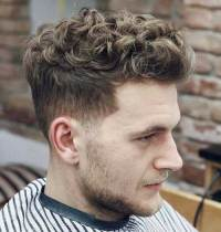 Different Hairstyle Ideas for Men with Curly Hair | Mens ...