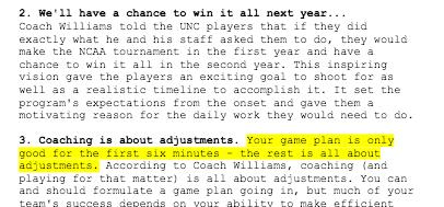 Roy Williams on Basketball Leadership