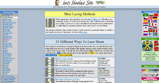 ians-shoelace-site