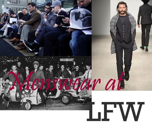 menswear at lfw