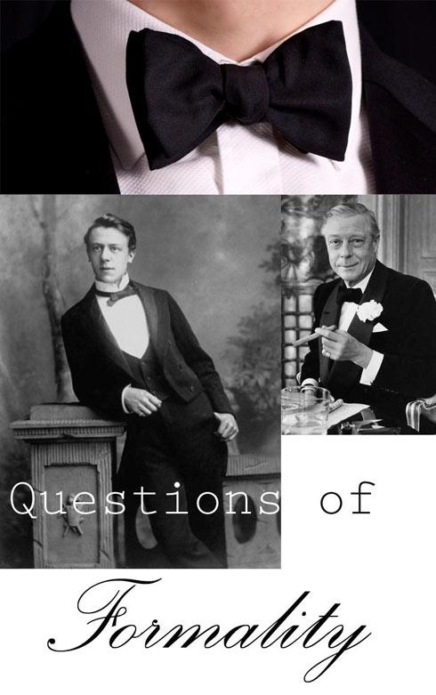 black bow tie - pocket square
