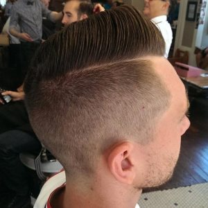 Best Hairstyles for Men: Add a side part