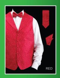 5 Piece Tuxedo Elegance Suit - Fancy Trim Dark color black ...
