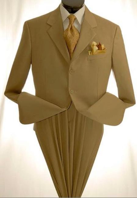 Mens Khakitan Beige Dress Lightweight And Comfortable