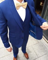 15 Popular Navy Blue Groom Suits for your Wedding