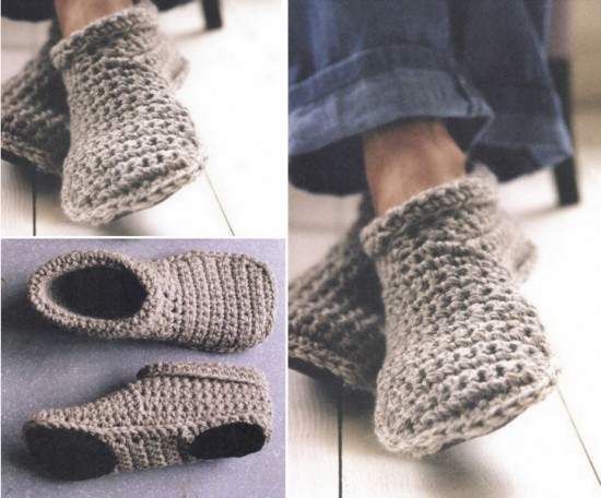 How To Crochet Warm And Cozy Slipper Boots Free Pattern