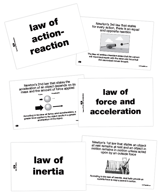 Strategies for Teaching Middle School Science Vocabulary Mentoring - vocab cards